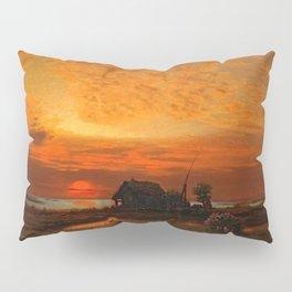 Coastal Landscape Late August Sunset Pillow Sham