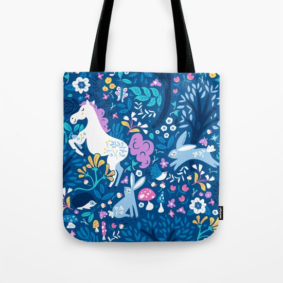 Woodland Folk Tote Bag