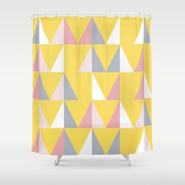 Abstract shapes 3 (Minimalism artwork) Shower Curtain