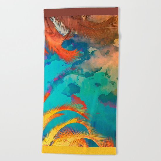 A place for lying down and look up / Botanic Beach Towel