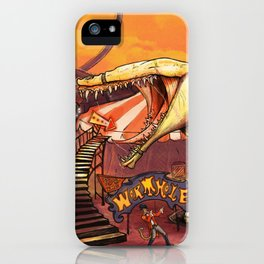 Ride the Wormhole iPhone Case