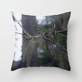 Usnea Throw Pillow