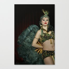 Burlesque Arabesque Canvas Print