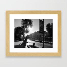Turkish Avenue Framed Art Print