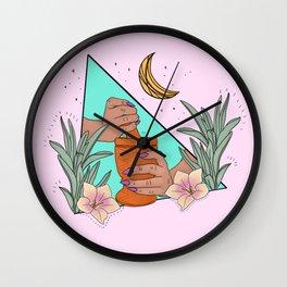 Mujer Divina Wall Clock