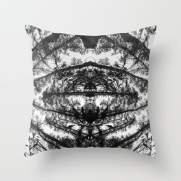 Forest 2. Cape Town South Africa Throw Pillow