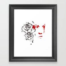 Abusive Framed Art Print