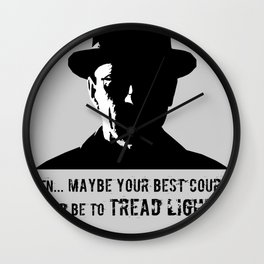 Heisenberg ( Breaking Bad ) Wall Clock