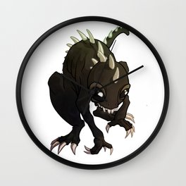 Chupacabra Wall Clock