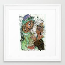 Wasted  Framed Art Print