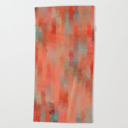Coral Mirage Beach Towel