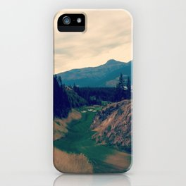prairie golf iPhone Case