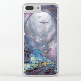 Main Street Portal Clear iPhone Case