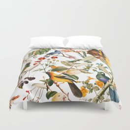 Floral and Birds XXXII Duvet Cover