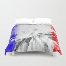 Flag of France Duvet Cover