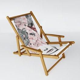 WOMAN WITH FLOWERS 10 Sling Chair