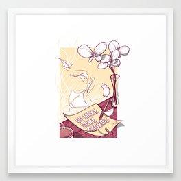 Go Make Some Stories Framed Art Print