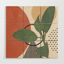 Nature Geometry III Wood Wall Art
