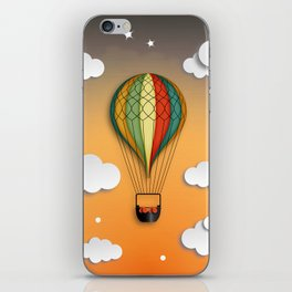 Balloon Aeronautics Dawn iPhone Skin