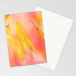Blush Gold Skies Stationery Cards