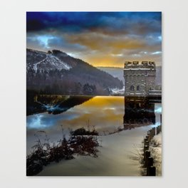 Howden Dawn Canvas Print