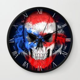 To The Core Collection: Puerto Rico Wall Clock