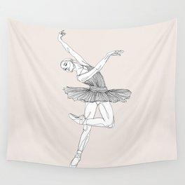Ballerina 1 Wall Tapestry