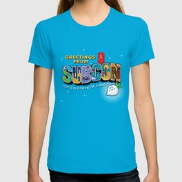 Greetings from Subcon T-shirt