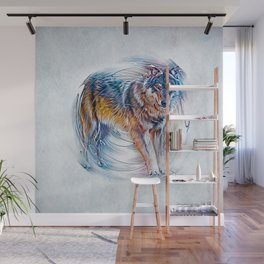 Timber Wolf Wall Mural