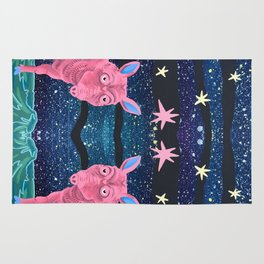 Spacepig Rug