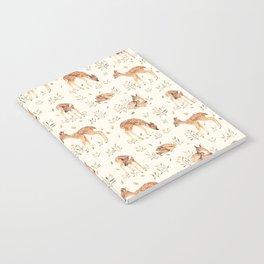 Wildflower Fawn Notebook