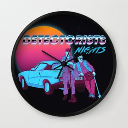 Detectorists Nights - DMDC - Lance & Andy Wall Clock