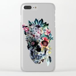 Memento te hominem esse Clear iPhone Case