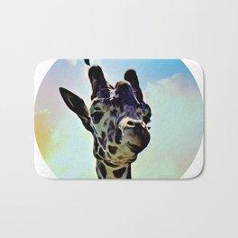 Don't Forget Your Giraffe! Bath Mat