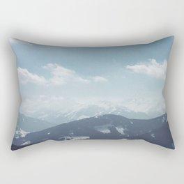 The alps 1 Rectangular Pillow