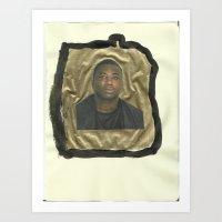 gucci Art Prints featuring Gucci Mane by Carlos Diaz