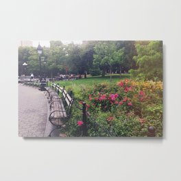 Washington Square Park Metal Print