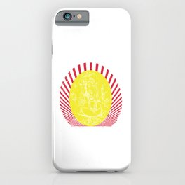 May your life be as long as Ganesh's trunk   Hindu Blessing iPhone Case