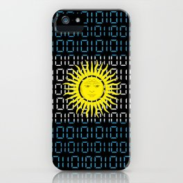 digital Flag (Argentina) iPhone Case