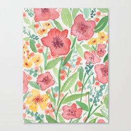 floreado Canvas Print