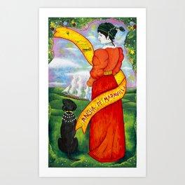Ansia De Maravilla Art Print