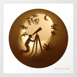 Astronomer (Astronome) Art Print