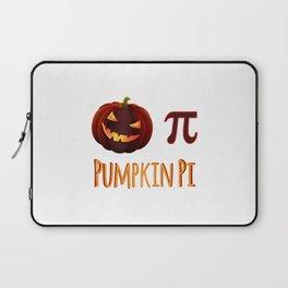 Pumpkin Pi Halloween Math Circle Circumference Ghost Costume Laptop Sleeve