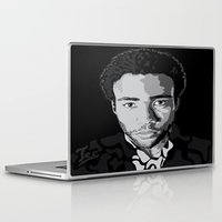 childish gambino Laptop & iPad Skins featuring Gambino by Tecnificent