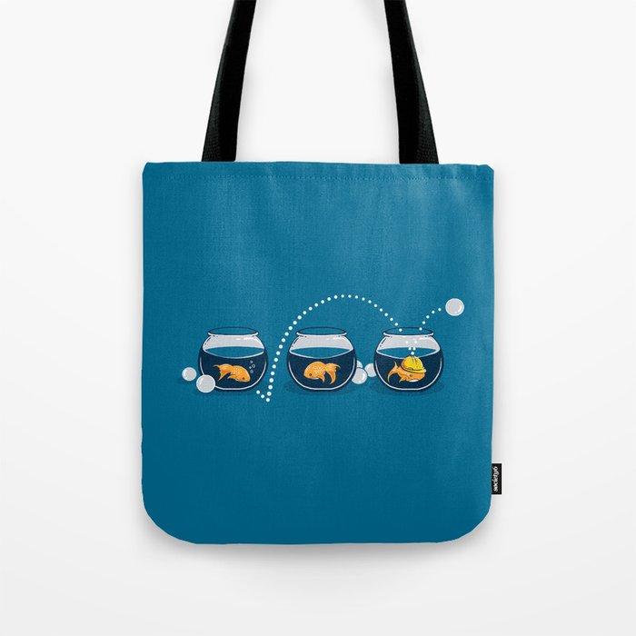 Prepared Fish Tote Bag