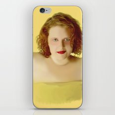 Golden Girl iPhone & iPod Skin
