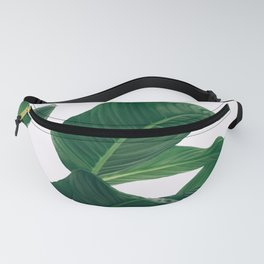 Tropical Plant Leaf Fanny Pack