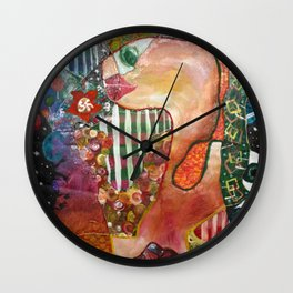 picasso fish Wall Clock