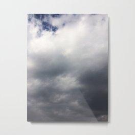 Winter Clouds #society6 #decor #buyart #artprint Metal Print