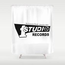 Studio One - Sir Coxsone Dodd (Common Style) Shower Curtain